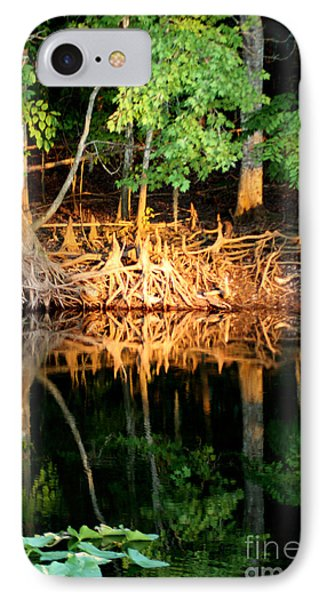Reflections Of Our Roots Phone Case by Lora Wood