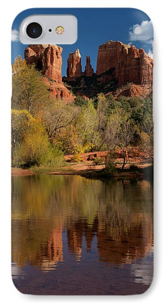 Reflections Of Sedona Phone Case by Joshua House