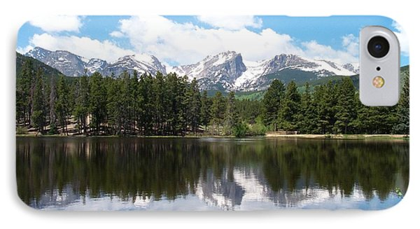 Reflections Of Sprague Lake IPhone Case