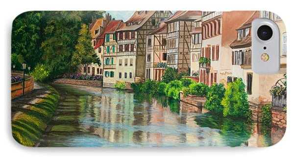 Reflections Of Strasbourg Phone Case by Charlotte Blanchard