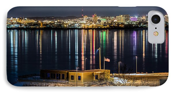 Reflections Of Syracuse IPhone Case by Everet Regal