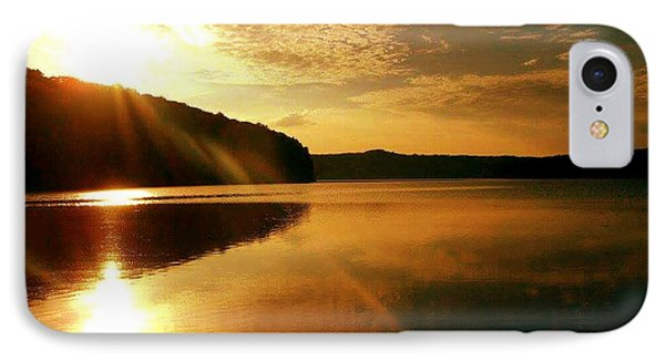 Reflections Of The Day IPhone Case by Scott D Van Osdol