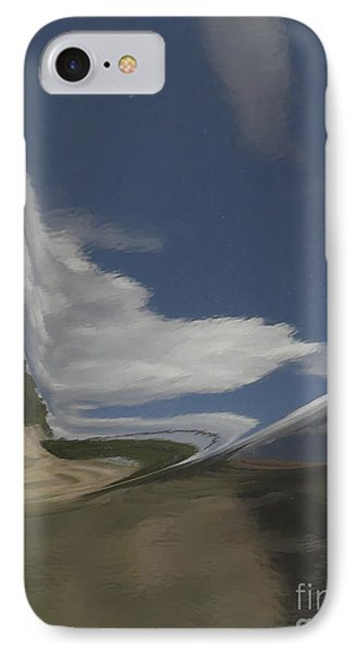 Reflections On A Powder Coated Sky IPhone Case