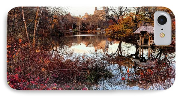 IPhone Case featuring the photograph Reflections On A Winter Day - Central Park by Madeline Ellis