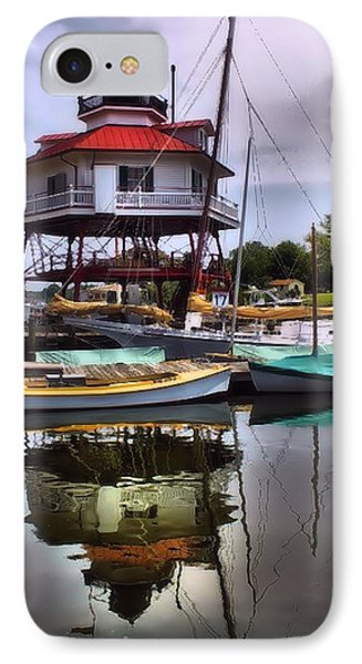 Reflections On Golden Creek IPhone Case