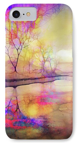 Reflections On Ice IPhone Case by Tara Turner
