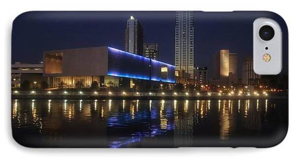 Reflections On Tampa Phone Case by David Lee Thompson