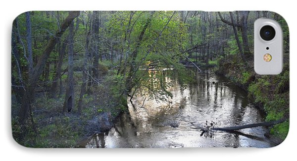 IPhone Case featuring the photograph Reflections On The Congaree Creek by Skip Willits