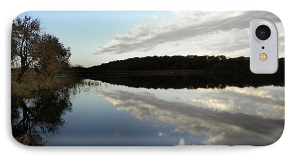 IPhone Case featuring the photograph Reflections On The Lake by Chris Berry