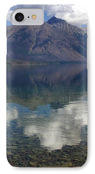 Reflections On The Lake Phone Case by Marty Koch