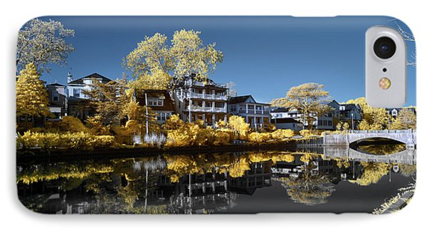 Reflections On Wesley Lake IPhone Case by Paul Seymour