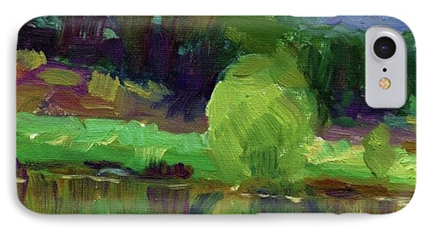 Reflections Painting Study By Svetlana IPhone Case