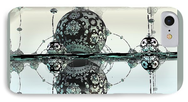 Reflective IPhone Case by Michelle H
