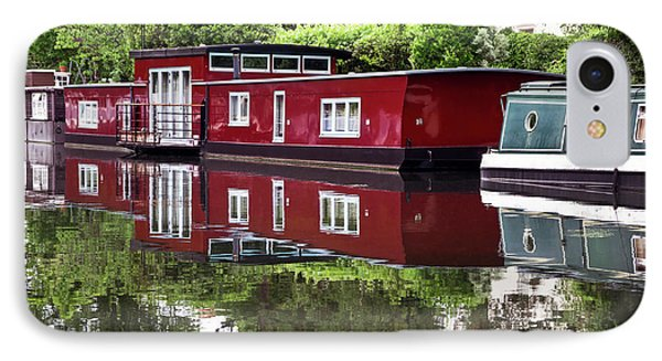 IPhone Case featuring the photograph Regent Houseboats by Keith Armstrong
