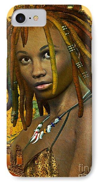 Reggae Woman IPhone Case by Shadowlea Is