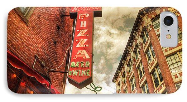 Regina Pizza - Boston North End IPhone Case by Joann Vitali