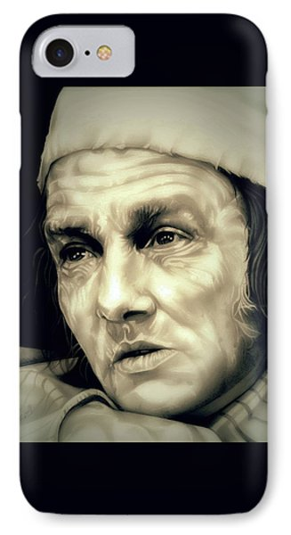 Regret Scrooge IPhone Case by Fred Larucci