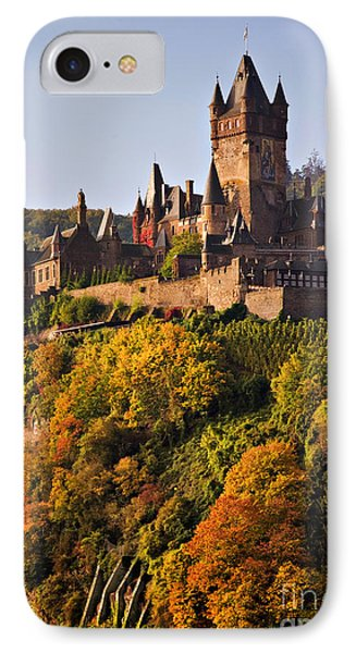 Reichsburg Castle Phone Case by Louise Heusinkveld