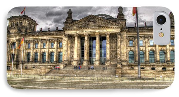 Reichstag Building  Phone Case by Jon Berghoff