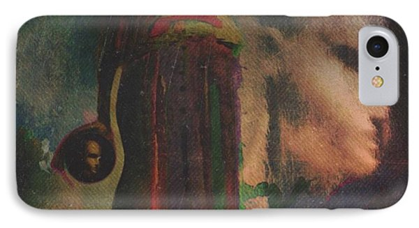 IPhone Case featuring the digital art Reincarnation by Alexis Rotella