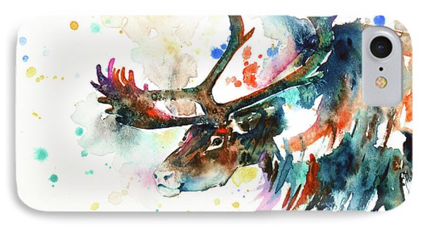 Reindeer IPhone Case by Zaira Dzhaubaeva