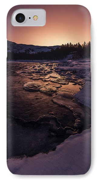 Reisadalen Sunrise IPhone Case