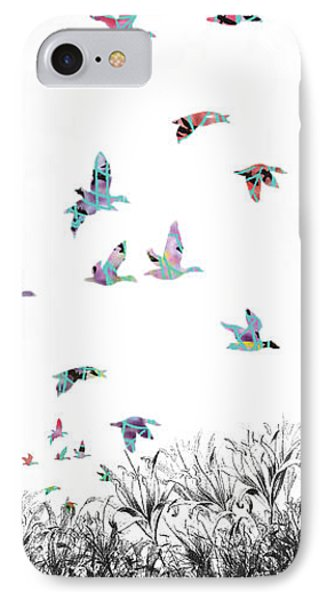 IPhone Case featuring the digital art Rejoice by Trilby Cole