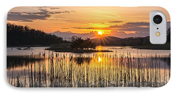 Rejoicing Easter Morning Skies IPhone Case by Angelo Marcialis