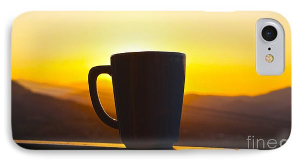Relax At Sunset IPhone Case by David Warrington