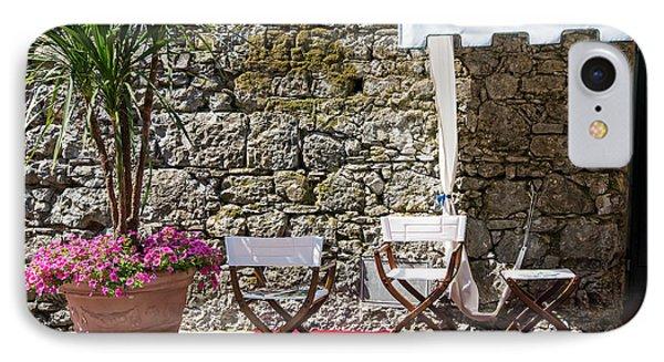 Relaxing In Portofino Italy IPhone Case