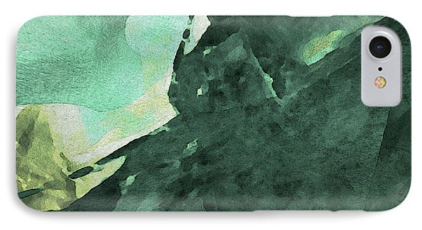 IPhone Case featuring the digital art Relaxing In The Green by Margie Chapman