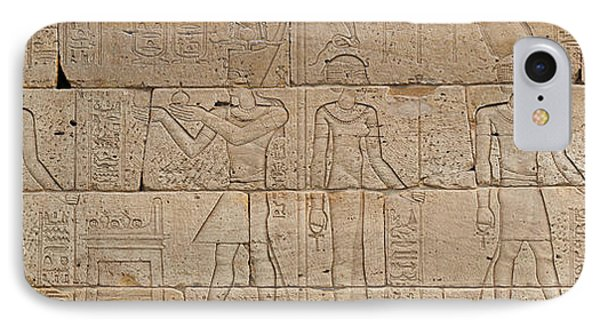 Relief From The Temple Of Dendur IPhone Case