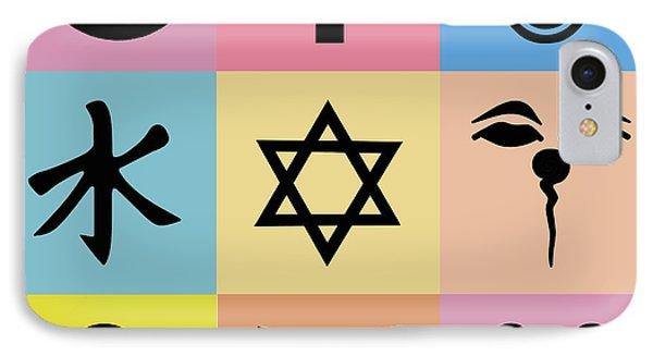 Religion? 3 IPhone Case by Tony Rubino