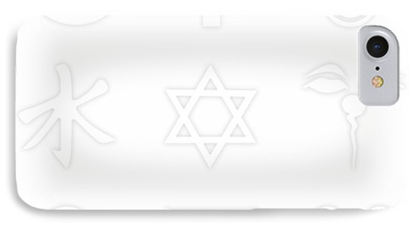 Religions? Take A Closer Look 1 IPhone Case by Tony Rubino