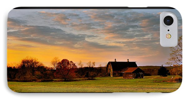 Remains Of A Late Autumn Day IPhone Case by Mark Fuller