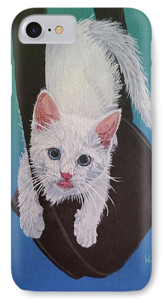 Rembrandt Justa Swingin IPhone Case by Wendy Shoults