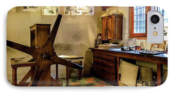 Rembrandt's Former Graphic Workshop In Amsterdam IPhone Case by RicardMN Photography