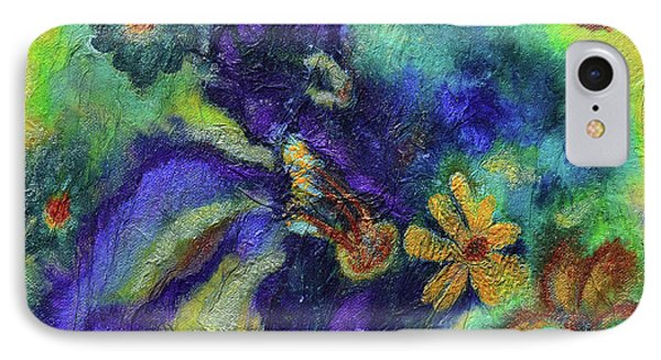 Remember The Flowers IPhone Case by Donna Blackhall