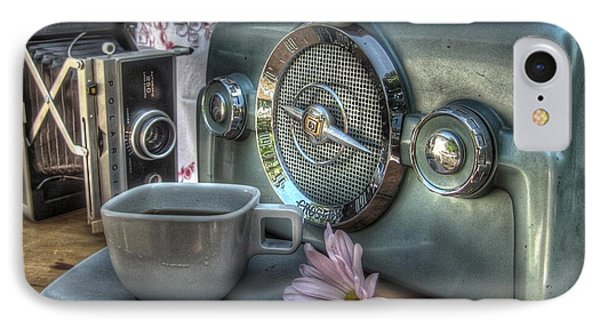 Remember The Past Phone Case by Jane Linders