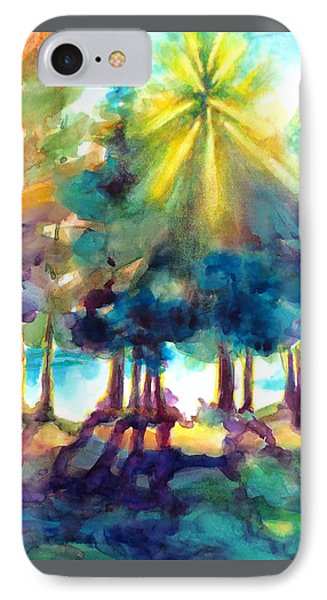 IPhone Case featuring the painting Remember The Son by Kathy Braud
