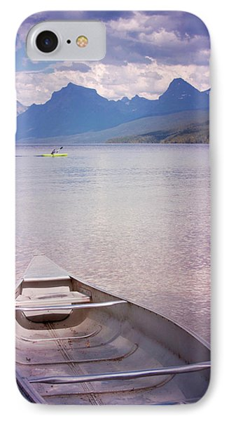 IPhone Case featuring the photograph Remembering Lake Mcdonald by Heidi Hermes