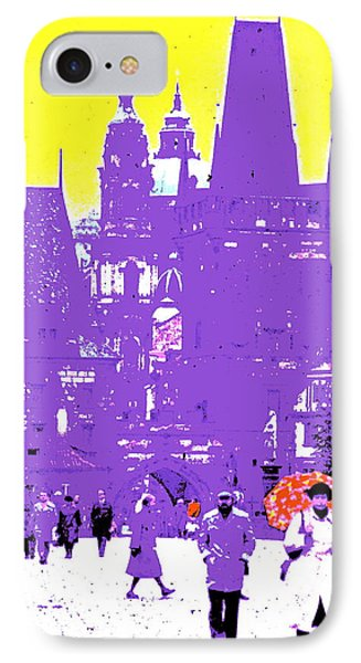 Remembering Pague IPhone Case by Ira Shander