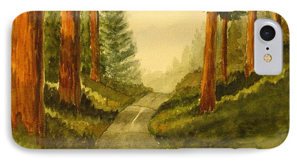 Remembering Redwoods IPhone Case by Marilyn Jacobson