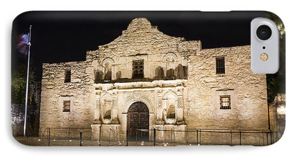 Remembering The Alamo IPhone Case by Stephen Stookey
