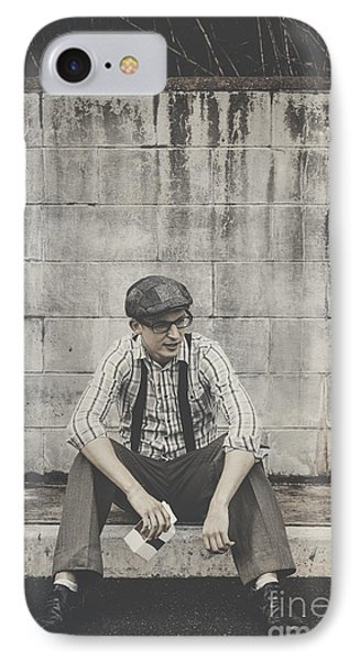 Reminiscing Days Of The Milkbar IPhone Case by Jorgo Photography - Wall Art Gallery