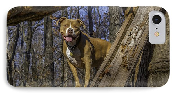 Remy In Tree Oil Paint More Pop IPhone Case