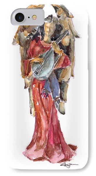 Renaissance Angel Phone Case by Claudia Hafner