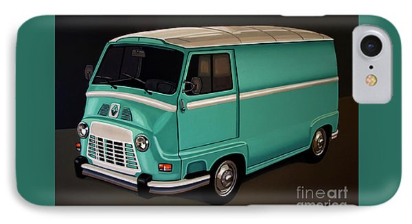 Renault Estafette 1959 Painting IPhone Case by Paul Meijering