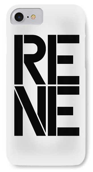 Rene IPhone Case by Three Dots