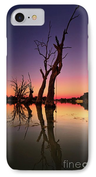 IPhone Case featuring the photograph Renmark South Australia Sunset by Bill Robinson